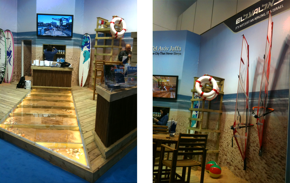 EL AL Booth Design