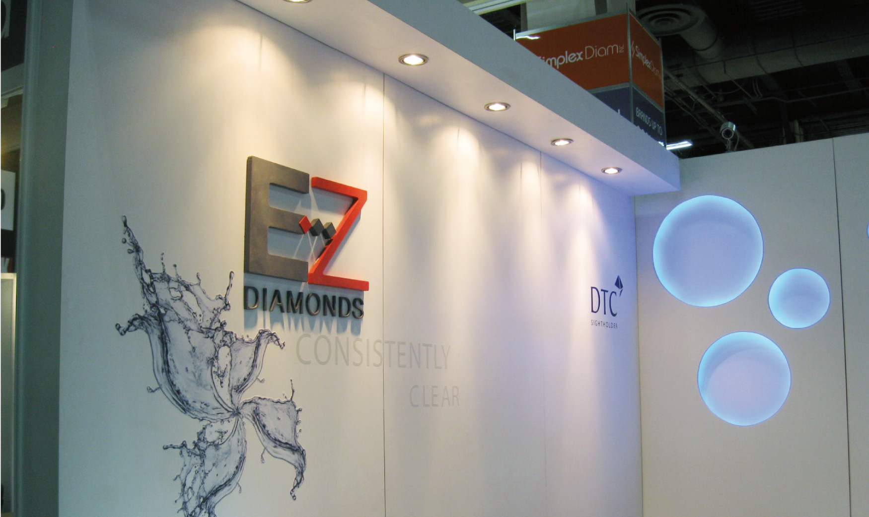 EZ Diamonds Booth Design at JCK Show