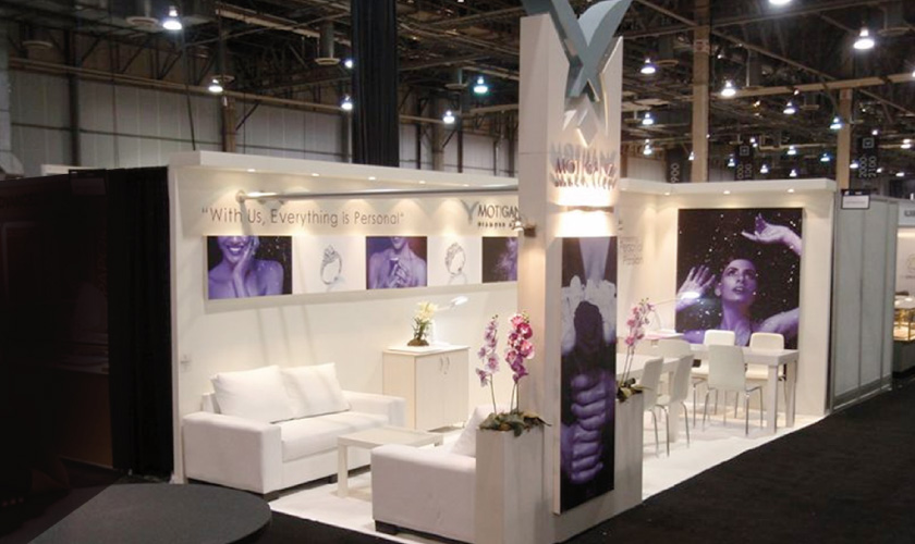 Moti Gantz Booth Design at JCK Show