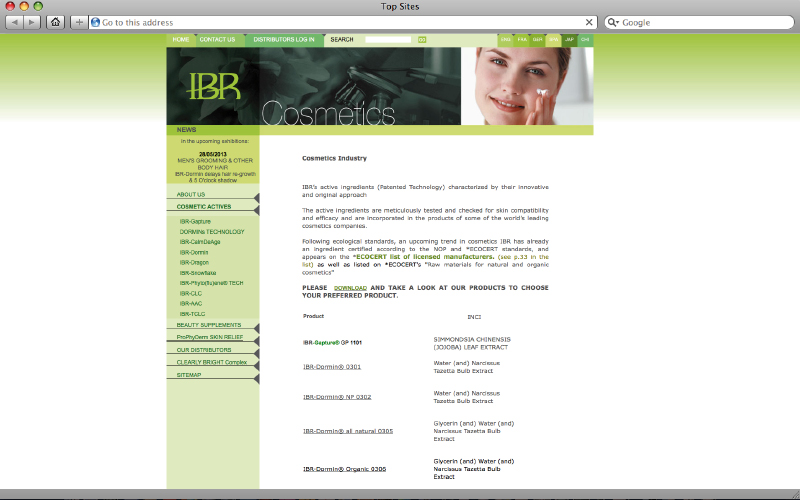 web design - IBR