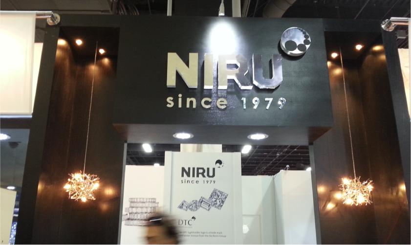 Niru Diamonds at JCK