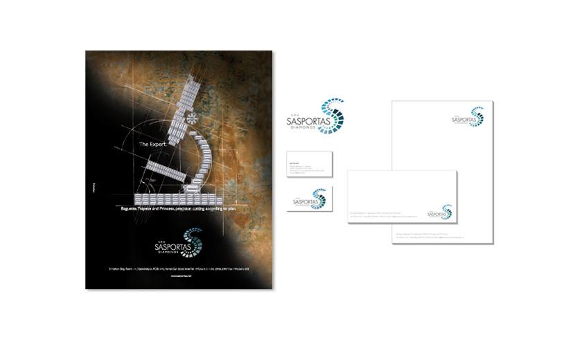 עיצוב גרפי כולל, נייר מכתבים, כרטיסי ביקור
