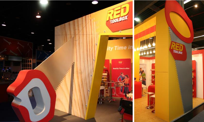 Red Tool Box עיצוב ביתן